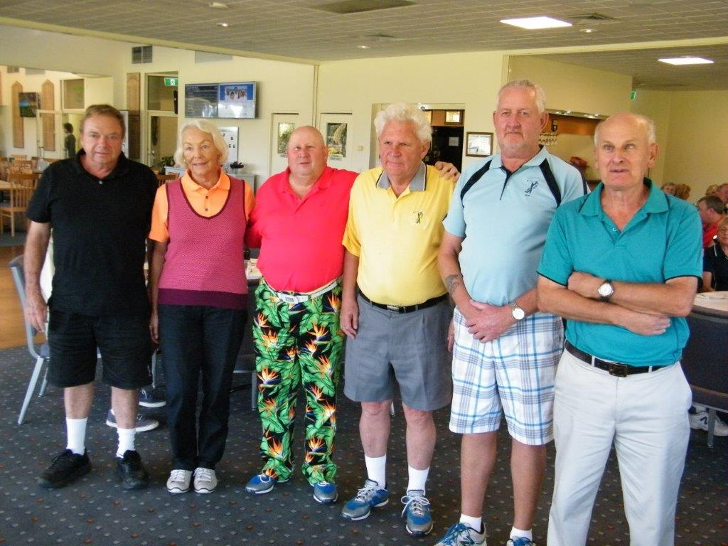 Members of BGA's team for 2016 World Championships at 2016 Victorian Open<br />Players left to right Gary Sargent, Deanna Minciullo, Graham 				Coulton, David Blyth, Stephen Mitchell, Rod Mills<br />Not present Jenny McCallum , Doug Burrows , Malcolm 				Elliott