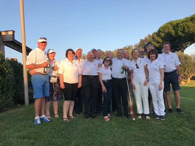 BGA Australian Blind Golf team Rome 2018.